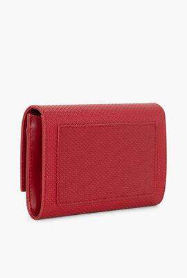 Chantaco Leather Snap Flap Wallet