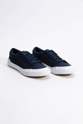 Dune Sport Dress Blue Sneakers