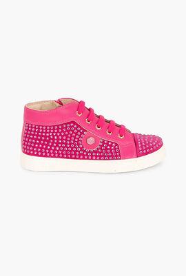 High Sneakers Pink