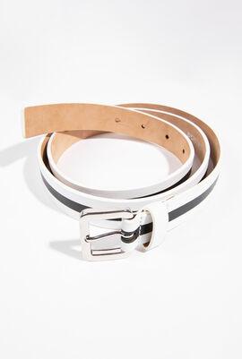 White Noel Belt