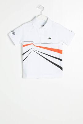 Novak Djokovic Graphic Print Polo Shirt