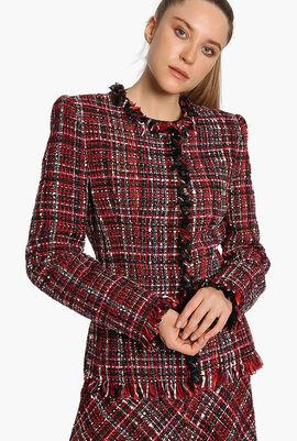 Weave Fringe Jackets