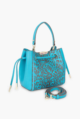 Summer Leo Bucket Bag