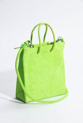 Prima Mini Suede Crossbody Bag