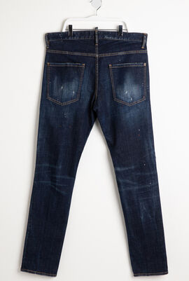 Stripe-Side Jeans