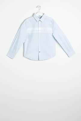 Regular Fit Striped Long Sleeves Shirt