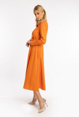 Midi Long Sleeves Dress