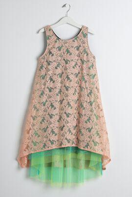 Peach Spectrum Dress
