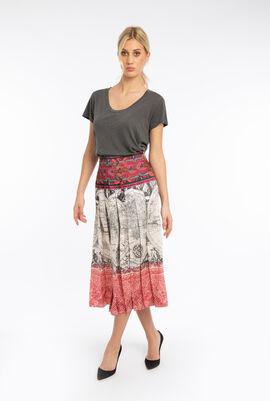 Duccio Printed Skirt