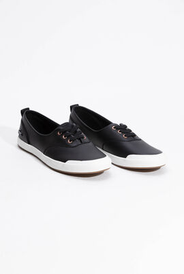 Lancelle Leather Black Sneakers