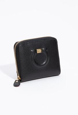 Small Gancini Zip Around Wallet