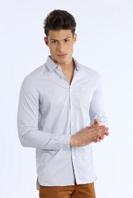 Regular Fit Texturized Cotton Shirt