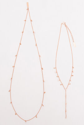 Penelope Cruz Moonsun Long Necklace