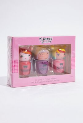 The Nail Lacquer Kokeshi Collection Set