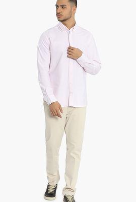 Yarn Dye Bengal Stripe Slim Fit Shirt