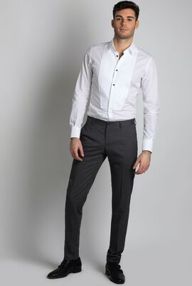 Regular Fit Wool Trousers