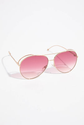 Run Away Aviator Sunglasses