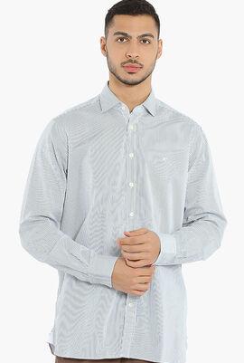 Painterly Stripe Kent Classic Shirt