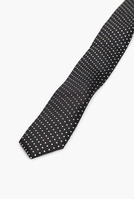 PZ Slim Dot Print Tie