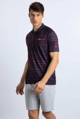 قميص بولو من قماش الجيرسيه بطبعة Novak Djokovic