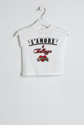 L'Amore Cotton Jersey Top