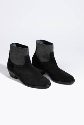 Teddy Suede Boots