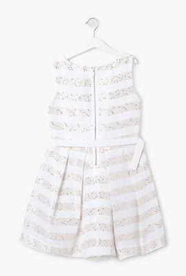 Sequined Embellished Sleeveless Dress