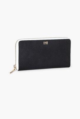 Delphine Long Zip Around Wallet