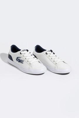 حذاء رياضي من الكانفا باللونين الأبيض والأزرق الداكن Lerond 319 4 Cuc