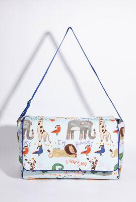 Animal Print Baby Diaper Bag