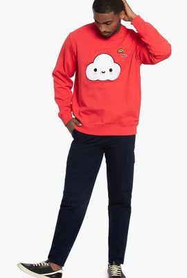Lacoste x FriendsWithYou Print Sweatshirt