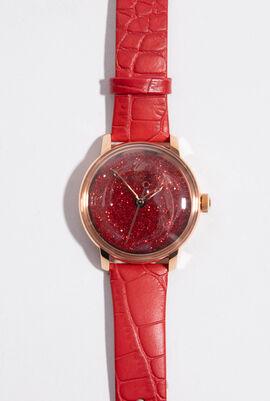 Crystalline Hours Analog Watch