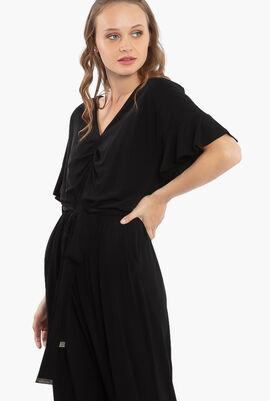 Flutter Short Sleeve Jumpsuit