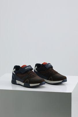 J Alfier B.D  Brown Low-Top Sneakers