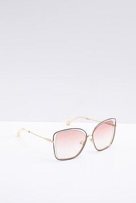 Square Gradient Women's Sunglasses