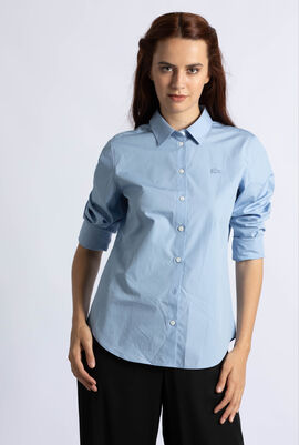 Regular Fit Cotton Poplin Shirt