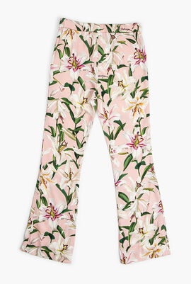 Floral Print Trouser