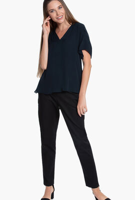 Evlin Ruched Blouse
