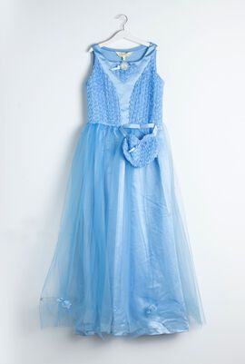 Disney Party Wear Cinderella Floral Ballgown