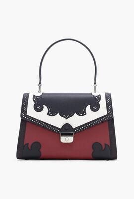Patch Leather  Handbag