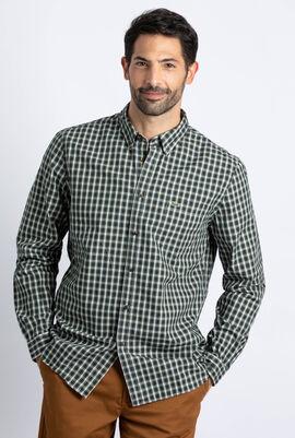 Regular Fit Check Oxford Cotton Shirt