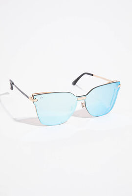 Shield Mirrored Sunglasses