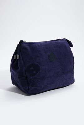 Solenne Solid Jacquard Terry Beach Pouch