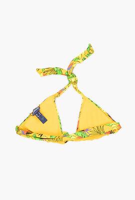 Go Bananas Halter Bikini Top