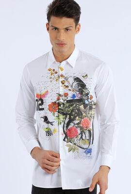 Printed Front Design Shirt