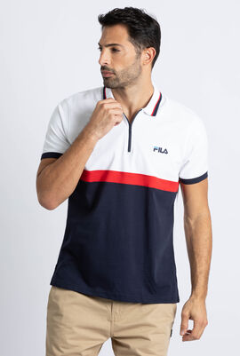 Gavin Colour Block Polo Shirt