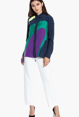 Gianni Colorblock Long Sleeves Shirt