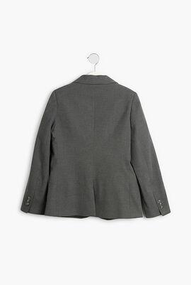 Regular Fit Padded Blazer