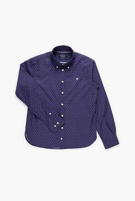 Logo H Multi Print Long Sleeve Shirt