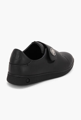Casual Velcro Leather Sneakers